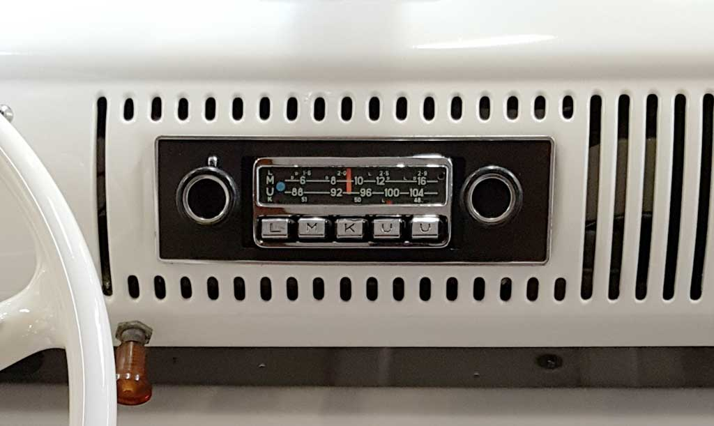 Autoradio T1-Bulli